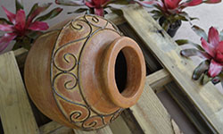 Wholesale Pottery Imported Clay Flower Pots Chimeneas