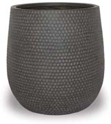 CH1715-1717 Honeycomb Finish Round Pot