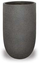 CH1723-1725 Honeycomb Finish Cylinder Pot with Hole