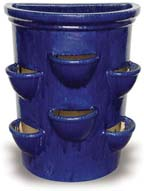CH989 Wall Pot With Pockets