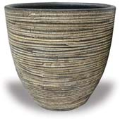 TP391-393 Planter with Scratch Design