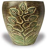 TP394-396 Planter with Tree Design