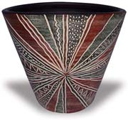 TP403-405 Planter with Ancient Design