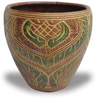 TP413-415 Planter with Necklace Design