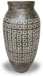 TP421 Tall Vase with Trellis Desgin
