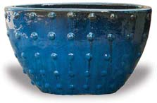 VP1062-1063 Oval Pot with Dots
