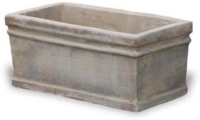 VP1175-1176 Small Rim Rectangular Planter