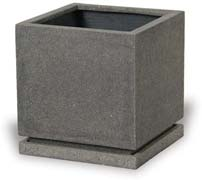 VP1299-1301 Plain Square Planter with Saucer