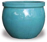 VP406-409 Rimmed Fishbowl Planter