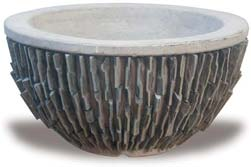 VP800 Slate Low Bowl