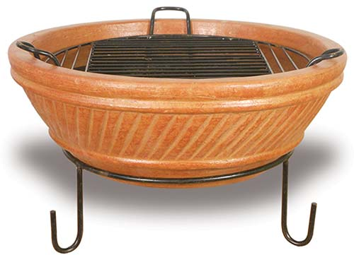CC011 Iron Base, Bowl and Grill