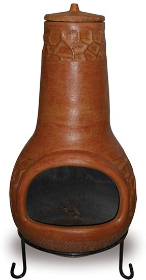 CC112 Rocks Large Chimenea