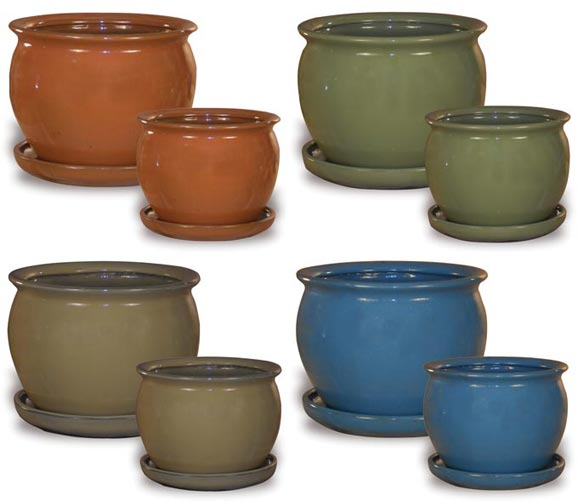 CH1125-1126 Home Decor Belly Pot Assortment