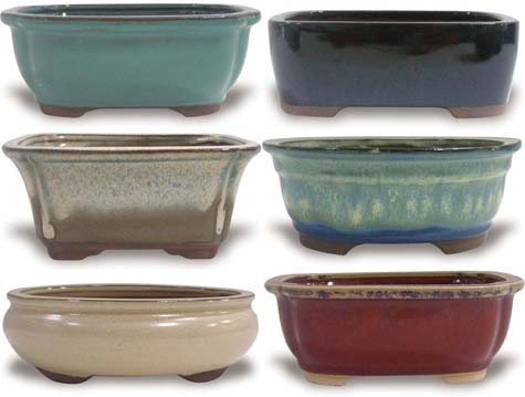 CH400-401 Bonsai Pots Case Pack