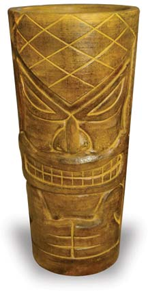 CP999 Tall Tiki Pot