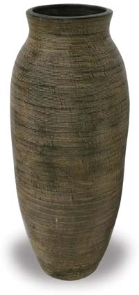 TP388 Tall Vase with Scratch Design