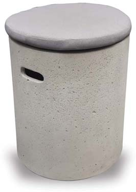 VP1156 Round Concrete Stool with Cushion