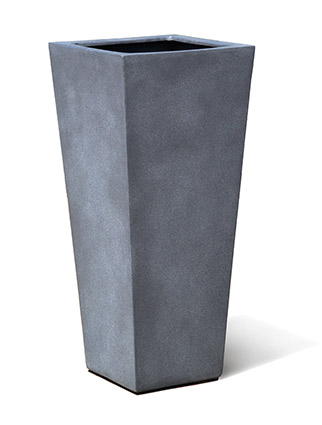 VP1206 FeatherStone Trend Tall Tapered Square Planter
