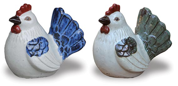 VP423-424 Hen Decor