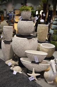 coastal shell pottery