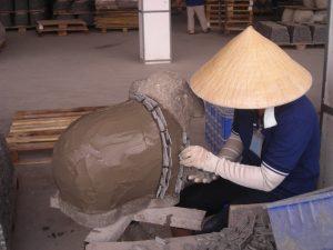 slate pottery from vietnam
