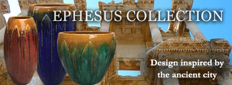 Ephesus collection of pottery inspired by ancient city
