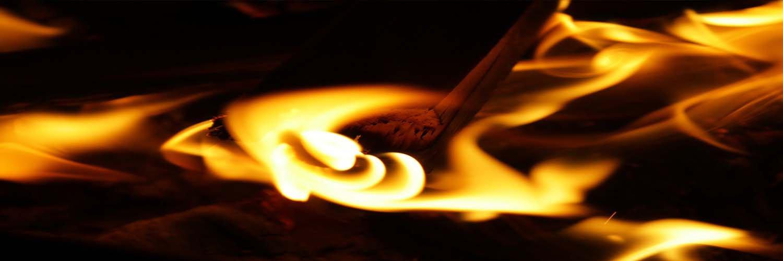 How to light fire in Chimenea